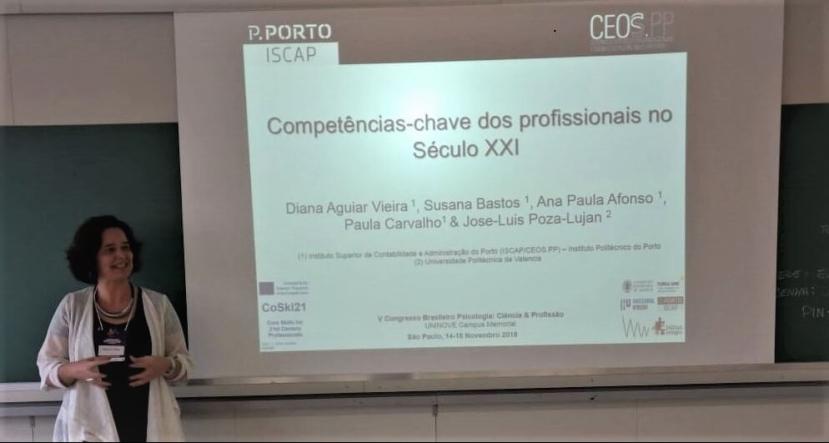 Competências-Chave dos Profissionais no Século XXI | V Congresso Brasileiro Psicologia | São Paulo, 14-28 novembro2018
